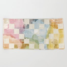 Watercolor I Beach Towel