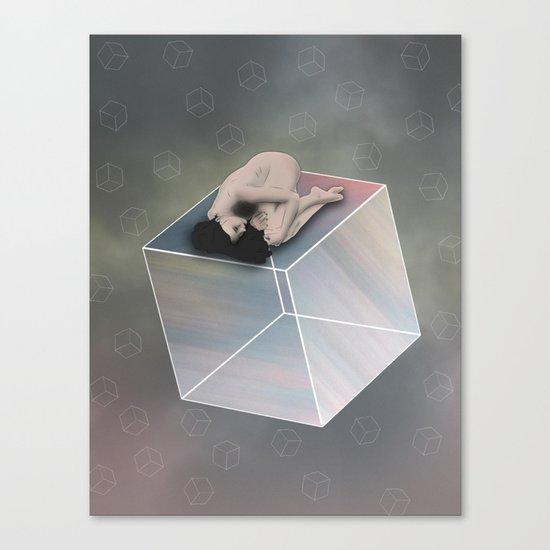 Cube Travel Canvas Print