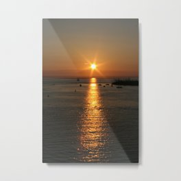 Sunset in KeyWest, FL Metal Print