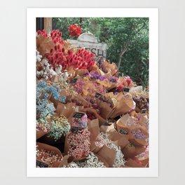 Fresh Florals Art Print