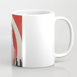 Superheroes SF Coffee Mug