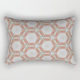 Kaleidoscope Do Not Gob Anywhere Sign Rectangular Pillow