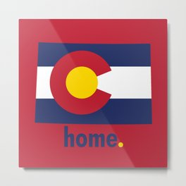 Colorado Proud Metal Print