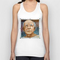 pablo picasso Tank Tops featuring Pablo Picasso by Michael Cu Fua