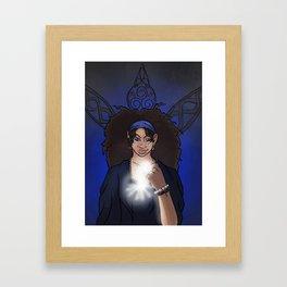 The Clairvoyant Raven Framed Art Print