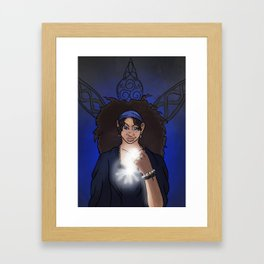 The Clairvoyant Raven Framed Art Print