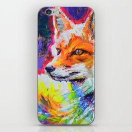 Fox Colors iPhone Skin