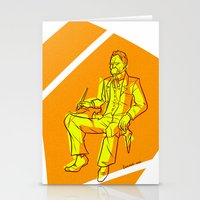 nietzsche Stationery Cards featuring The Dawn of Nietzsche by Duessa