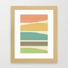 Unblurred Lines Framed Art Print