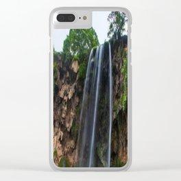 Oman Salalah 3 Clear iPhone Case
