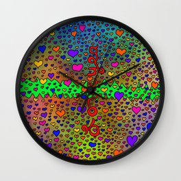 Love Yea Wall Clock