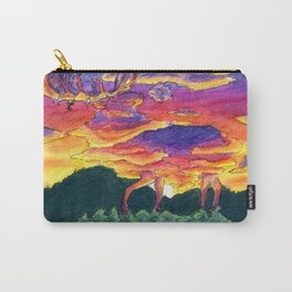 The Elk Made of Clouds Carry-All Pouch