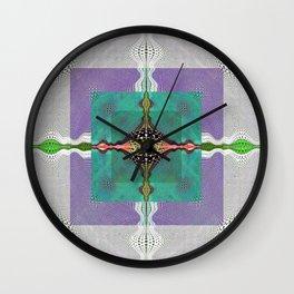 Sacred Healing Resonant Mandala Wall Clock