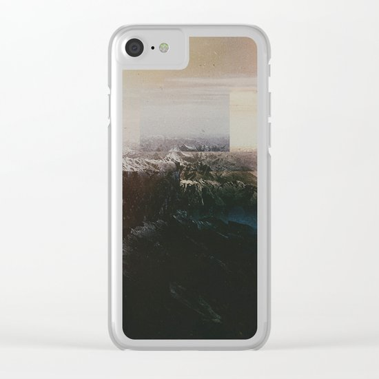 Fractions A64 Clear iPhone Case