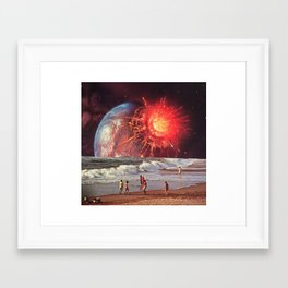 Goodbye Framed Art Print