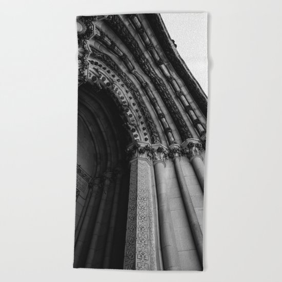 Cathedral Church of St. John the Divine Beach Towel