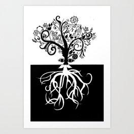 Tree Beard - Bethany Walrond Art Print