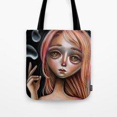 Water Master Pop Surreal Illustration Tote Bag