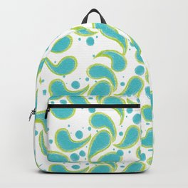 Paisley Dewdrops Backpack