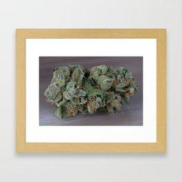 Dr Who Medicinal Medical Marijuana Framed Art Print