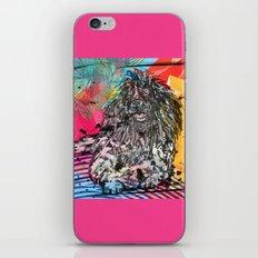 Poodle 2 pop art iPhone & iPod Skin