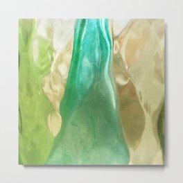 356 - Abstract Design Bottles Metal Print