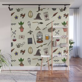 Harry Pattern Wall Mural