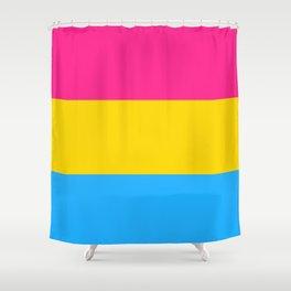 Pan Flag Shower Curtain