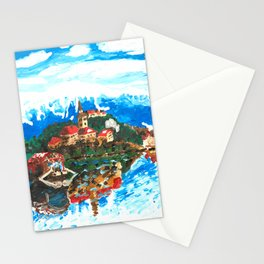 Lake Bled Stationery Cards