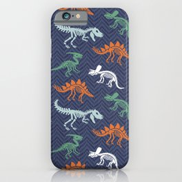 Dino Bones iPhone Case