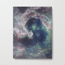 The Blue Lake Metal Print