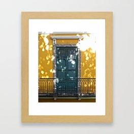 Old Balconies in Rio - 12 Framed Art Print