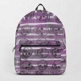 Grunge Skulls Backpack