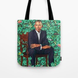 Obama Portrait Tote Bag