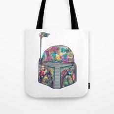Boba Fett Galaxy Tote Bag