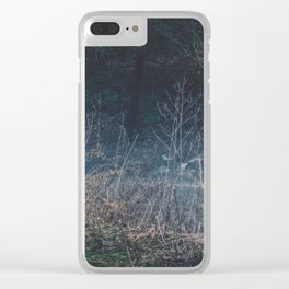 Wasted Moments Clear iPhone Case