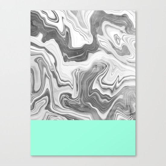 Liquid Sea Canvas Print