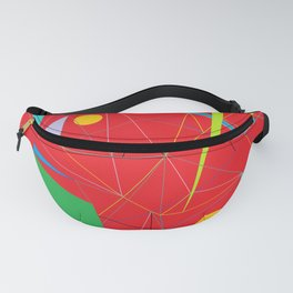 Euclid's Spider Webs Fanny Pack