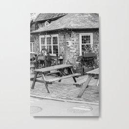 Adam & Eve pub, Norwich city Metal Print