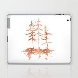 THE THREE SISTERS Trees Rose Gold Laptop & iPad Skin