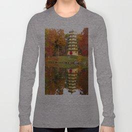 Jade Buddha Pagoda Long Sleeve T-shirt