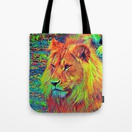 AnimalColor_Lion_004_by_JAMColors Tote Bag