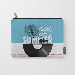 500 days of summer art Carry-All Pouch