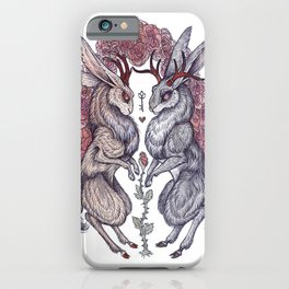 Rare Hearts iPhone Case