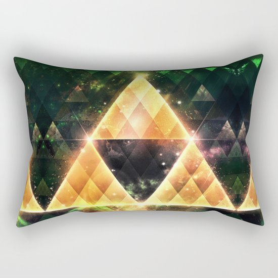 Triforce Rectangular Pillow