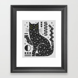 Magic Cat Framed Art Print