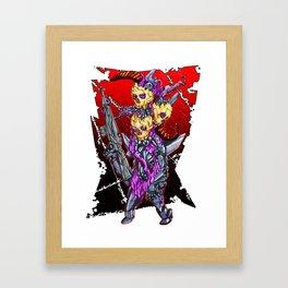 METAL MUTANT 2 Framed Art Print
