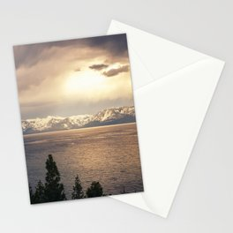 Changing Seasons at Lake Tahoe Stationery Cards