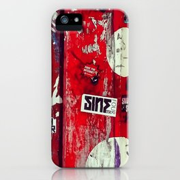 Urban Graffiti 768 iPhone Case