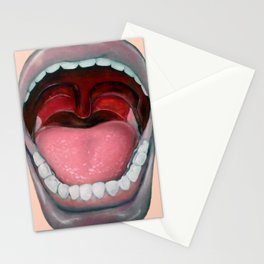 Say AAAH!! Stationery Cards